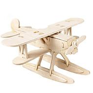 voordelige Speelgoed & Hobby-3D-puzzels Houten modellen Vechter DHZ Hout Klassiek Unisex Geschenk