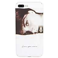 Case for Apple iPhone 7 Plus/ 7 Cover Pattern Back Cover Case Sexy Lady Hard PC iPhone 6s Plus/ 6 Plus / 6s/ 6