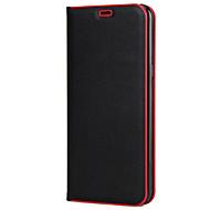 Недорогие Чехлы и кейсы для Galaxy S7-Кейс для Назначение SSamsung Galaxy S8 Plus / S8 Бумажник для карт / со стендом / Флип Чехол Однотонный Твердый ПК для S8 Plus / S8 / S7 edge