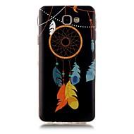 Недорогие Чехлы и кейсы для Galaxy J7(2016)-Кейс для Назначение SSamsung Galaxy J7 Prime J5 Prime Сияние в темноте С узором Кейс на заднюю панель Ловец снов Мягкий ТПУ для J7 Prime