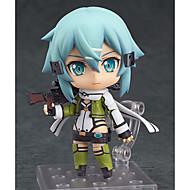 billige Cosplay og kostumer-Anime Actionfigurer Inspireret af Sword Art Online Cosplay PVC 10cm CM Model Legetøj Dukke Legetøj Herre Dame
