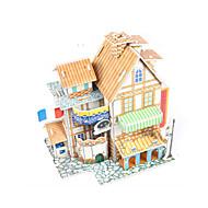 preiswerte Spielzeuge & Spiele-3D - Puzzle Modellbausätze Haus Heimwerken Hochwertiges Papier Klassisch Unisex Jungen Mädchen Spielzeuge Geschenk