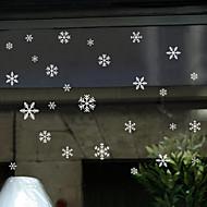 abordables Adornos de Navidad-Art Decó Adhesivo para Ventana,PVC/Vinilo Material decoración de la ventana