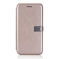 Назначение iPhone X iPhone 8 iPhone 8 Plus Чехлы панели Бумажник для карт Флип Магнитный Чехол Кейс для Сплошной цвет Твердый