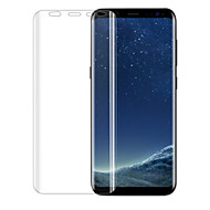 Недорогие Чехлы и кейсы для Galaxy S-Защитная плёнка для экрана для Samsung Galaxy S8 TPU 1 ед. Защитная пленка для экрана 2.5D закругленные углы
