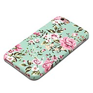 Käyttötarkoitus iPhone X iPhone 8 kotelot kuoret Kuvio Takakuori Etui Kukka Pehmeä TPU varten Apple iPhone X iPhone 8 Plus iPhone 8