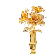 tanie Zabawki & hobby-Zabawki 3D Metalowe puzzle Model Bina Kitleri Zabawki Róże DIY Aluminium Nie określony Sztuk