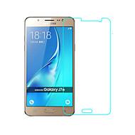 お買い得  Samsung 用スクリーンプロテクター-スクリーンプロテクター Samsung Galaxy のために J7 強化ガラス 1枚 スクリーンプロテクター 2.5Dラウンドカットエッジ 硬度9H ハイディフィニション(HD)