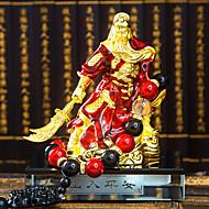 cheap Car Pendants & Ornaments-DIY Automotive Ornaments Interior decoration Ping An Guan Gong Guan Yu Huishen Gold Guan Gong Fortune Beads Car Pendant & Ornaments