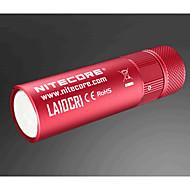 LA10CRI_CN Lampes Torches LED LED 85 lm Mode Style mini Graduable pour Camping/Randonnée/Spéléologie Voyage Extérieur Noir Rouge Bleu