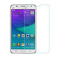 お買い得  Samsung 用スクリーンプロテクター-スクリーンプロテクター のために Samsung Galaxy J5 強化ガラス 1枚 スクリーンプロテクター ハイディフィニション(HD) / 硬度9H / 2.5Dラウンドカットエッジ