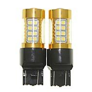Недорогие Сигнальные огни для авто-SENCART T20 (7440,7443) Мотоцикл Лампы 36W SMD 3030 1500-1800lm Светодиодные лампы Лампа поворотного сигнала