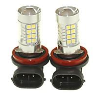 billiga -SENCART 2pcs PGJ19-1 Bilar Glödlampor 36W SMD 3030 1500-1800lm LED Glödlampor Dimljus