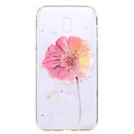 Case voor Samsung Galaxy J7 2017 j5 2017 case cover bloem patroon tpu hoge zuiverheid doorschijnend zacht telefoon hoesje voor j3 2017