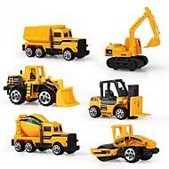 Terugtrekauto/Inertie-auto Voertuig Speelgoedauto's Constructievoertuig Speeltjes Unisex Stuks