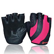 저렴한 -BOODUN/SIDEBIKE® 활동/스포츠 장갑 싸이클링 장갑 착용 가능한 내구성 보호하는 손가락 없는 가죽 피트니스 여성용