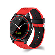 cheap Sport Watches-Men's Sport Watch Military Watch Smartwatch Digital 30 m Water Resistant / Water Proof Touch Screen Alarm PU Band Digital Charm Luxury Bangle Multi-Colored - Red Green Blue / Calendar / date / day