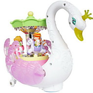 Wind-up Toy Toys Swan Plastics Pieces Not Specified Gift
