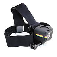お買い得  スポーツカメラ & GoPro 用アクセサリー-ヘッドストラップ 折りたたみ式 ノンスリップ ねじ式 耐摩耗性 ために アクションカメラ ポラロイドキューブ レクリエーションサイクリング キャンピング&ハイキング スキー 登山 スケートボード
