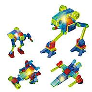 Oświetlenie LED Klocki Zabawka edukacyjna na prezent Klocki Myśliwiec 6 lat i Powyżej Zabawki