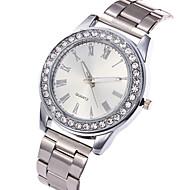 Dame Armbåndsur Diamond Watch Quartz Rustfrit stål Sølv / Guld / Rose Guld Afslappet Ur Sej Analog Damer Vedhæng Luksus Afslappet Mode - Guld Sølv Rose Guld