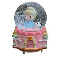Balls Music Box Toys Round ABS Pieces Girls' Birthday Gift