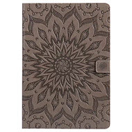 Etui til ipad pro 10.5 9.7 dekselkortholder med lommeposett full bodycase mandala hard pu lær for ipad 2017 5 6 mini 1.2.3.4