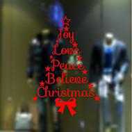 크리스마스 로맨스 휴일 벽 스티커 플레인 월스티커 데코레이티브 월 스티커,종이 자료 홈 장식 벽 데칼