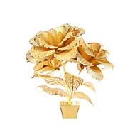 tanie Zabawki & hobby-Metalowe puzzle Zabawki Róże Kwiat 3D DIY Stop Nie określony Sztuk