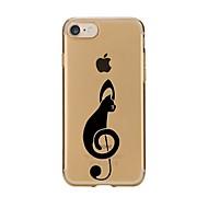 Fall für iphone 7 6 Katze tpu weiche ultradünne rückseitige Abdeckungsfallabdeckung iphone 7 plus 6 6s plus se 5s 5 5c 4s 4
