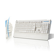 Ajazz-ak20 usb con cable juegos de teclado soporte windows xp 2000 removible mano resto
