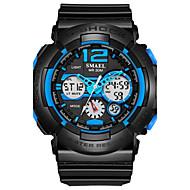 Недорогие Фирменные часы-SMAEL Муж. Спортивные часы Наручные часы Цифровой 50 m Горячая распродажа PU Группа Аналого-цифровые Кулоны Мода Черный - Черный / зеленый Черный / Синий Черный / серый