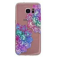 Кейс для Назначение SSamsung Galaxy S8 Plus S8 С узором Задняя крышка Мандала Мягкий TPU для S8 S8 Plus S7 edge S7 S6 edge S6