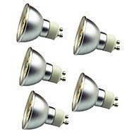 お買い得  LED スポットライト-5個 3W 280lm GU10 LEDスポットライト 30 LEDビーズ SMD 5050 装飾用 温白色 クールホワイト 12V