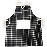 billiga Rengöringsskydd-1 st nordisk stilelattice bomullstyg förkläde köksartiklar
