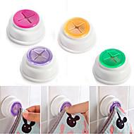 abordables Organización de encimera y pared-Almohadilla de goma de succión paño de té toalla titular de caucho empujar en auto-adhesivo 1pcs