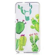 お買い得  携帯電話ケース-ケース 用途 AsusのZenFoneマックスZC550KL Asus クリア パターン バックカバー 木 ソフト TPU のために Asus Zenfone 3 Max ZC520TL