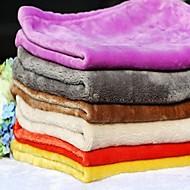 Kutya Ágyak Házi kedvencek Pokrócok Egyszínű Meleg Összecsukható Mekano Véletlenszerűen kiválasztott szín