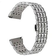 Недорогие Аксессуары для смарт-часов-Ремешок для часов для Huawei Watch 2 Huawei Дизайн украшения Нержавеющая сталь Повязка на запястье