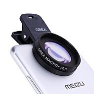 Lente del teléfono móvil del orea con el clip del auto-temporizador macro 12.5x lente gruesa-ancha del cpl del macro 20m m