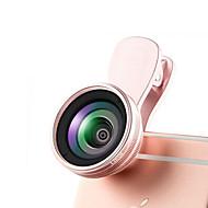 aodanmu lentille de téléphone portable objectif grand angle 0.6x lentille macro 10x alliage d'aluminium pour téléphone portable Android