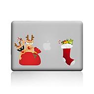 """お買い得  iPad 用アクセサリー-MacBook ケース のために クリア クリスマス PVC 新MacBook Pro 15"""" 新MacBook Pro 13"""" MacBook Pro 15インチ MacBook Air 13インチ MacBook Pro 13インチ MacBook Air 11インチ"""