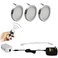 お買い得  -ONDENN 1セット 2W 600lm 18 LED 装飾用 キャビネット用ライト 温白色 クールホワイト AC85-265V