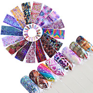 16 아트 스티커 네일 글리터 패턴 악세사리 아트 데코/레트로 3-D DIY 용품 스티커 메이크업 화장품 아트 디자인 네일
