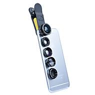 Handy-Objektiv Objektiv mit Filter Fischaugen-Objektiv Lange Brennweite Weitwinkelobjektiv Makro-Objektiv Aluminium Legierung 10x und