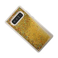 Case For Samsung Galaxy Note 8 Flowing Liquid Back Cover Glitter Shine Soft TPU for Note 8