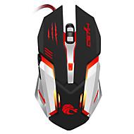 preiswerte Mäuse-S100 Mit Kabel Gaming Mouse DPI Adjustable Hinterleuchtet 1200 / 1600 / 2400 / 3200/5500