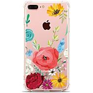 제품 iPhone X iPhone 8 케이스 커버 투명 패턴 뒷면 커버 케이스 꽃장식 소프트 TPU 용 Apple iPhone X iPhone 8 Plus iPhone 8 아이폰 7 플러스 아이폰 (7) iPhone 6s Plus iPhone 6
