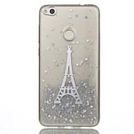 til huawei p10 lite p8 lite (2017) mobil taske tpu materiale tårn flash pulver telefon taske nova 2 p10