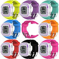 für Garmin Vorläufer 10 Gummiband Ersatz Uhrenarmband Uhrenarmbänder Zubehör mit Werkzeug